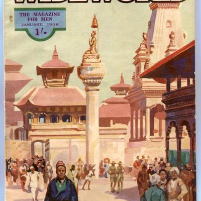 The Wide World Pulp January 1936- Nepal Land of Mystery...