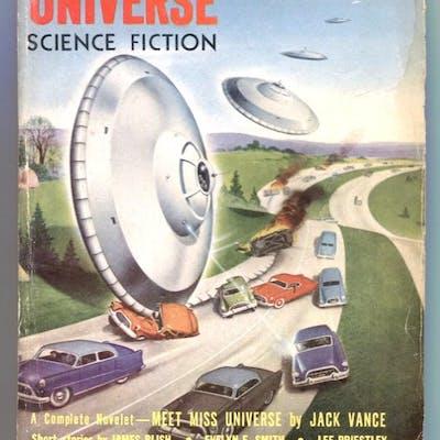 Fantastic Universe Science Fiction March 1955- Schomburg...