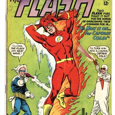 THE FLASH #140-1963-DC-FIRST HEAT WAVE comic book...