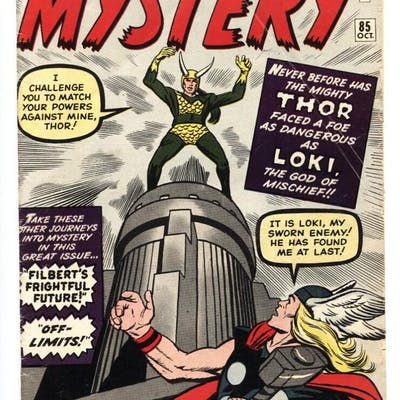 Journey Into Mystery #85 comic book origin 1st appearance...