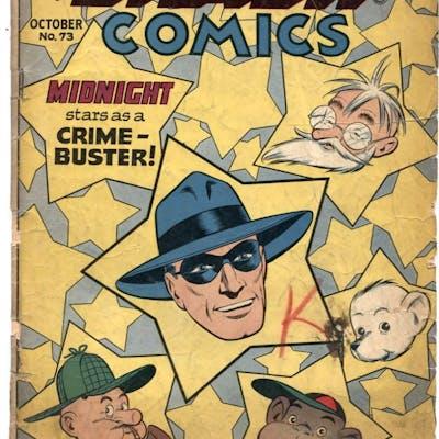 Smash Comics #73 1947- Lady Luck- Midnight G   COMICS - Golden-Age - Superhero