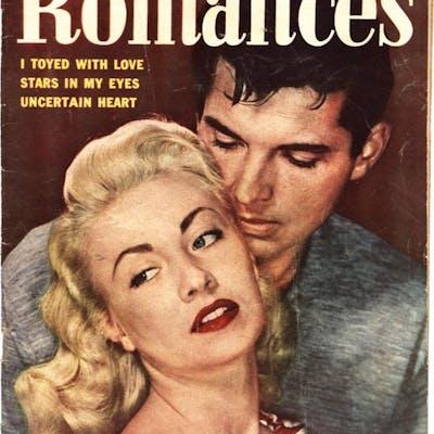 NEW ROMANCES #17-ALEX TOTH-PRE CODE-SPICY POSES-GOOD GIRL...