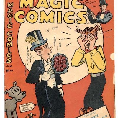 Magic Comics #121 1949- Blondie- Mandrake VG-   COMICS...