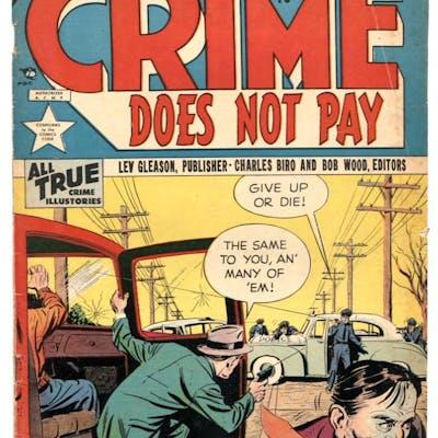 Crime Does Not Pay #128 1953- Golden Age comic VG+   COMICS - Golden-Age - Crime
