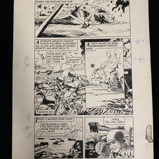 World Around Us #11-Story of the Marines Pages 73 & 74...