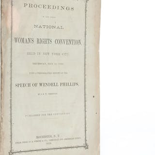 Proceedings of the Ninth National Woman's Rights...