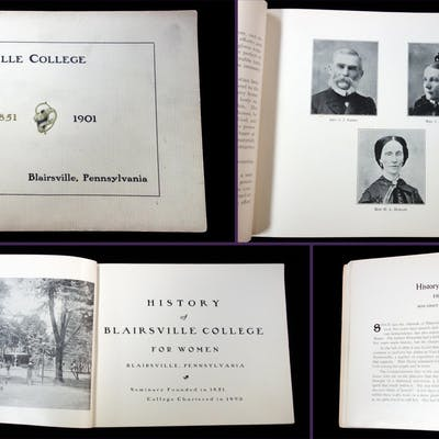 Promotional Brochure -History Blairsville College for...