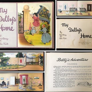 My Dolly's Home (a paper doll house with characters)...