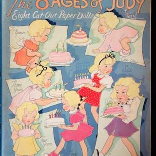 The 8 Ages of Judy Fern Bisel Peat Childhood Ephemera...