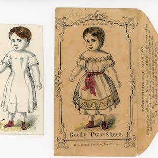 Uncut Goody-Two Shoes Paper Doll   Childhood Ephemera...