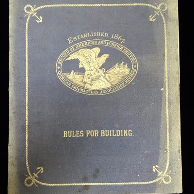 Rules for Building and Classification; Record of American...