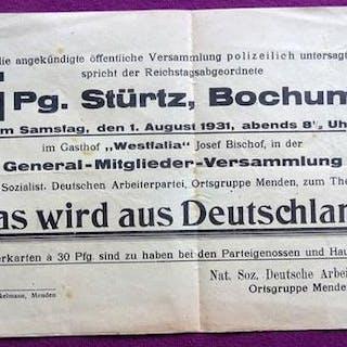 """FLUGBATT: """"Was wird aus Deutschland?"""" (Ankündigung einer..."""