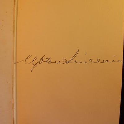 The Jungle SIGNED Upton Sinclair