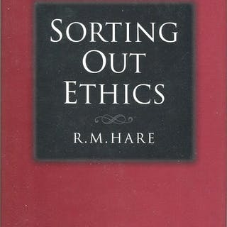 Sorting Out Ethics Hare, R. M. Philosophy