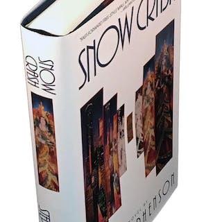 Snow Crash Stephenson, Neal Fiction,Science Fiction