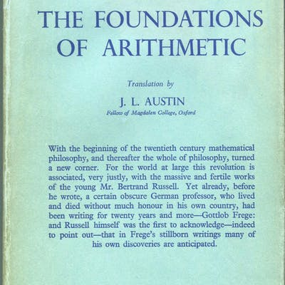 The Foundations of Arithmetic; A Logico-Mathematical...