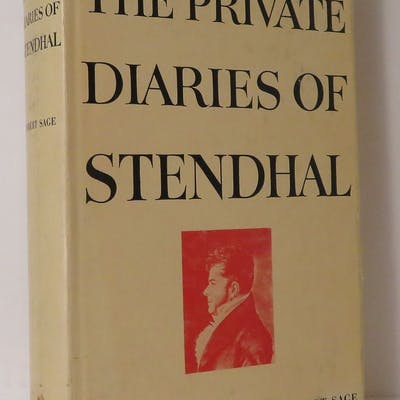 THE PRIVATE DIARIES OF STENDHAL (MARIE-HENRI BEYLE)...