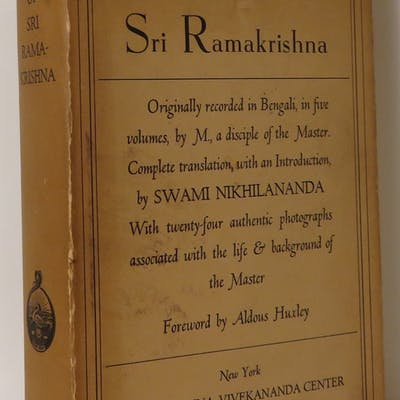 THE GOSPEL OF SRI RAMAKRISHNA Sri Ramakrishna - Foreword...