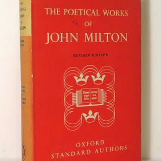 THE POETICAL WORKS OF JOHN MILTON With Translations of the Italian