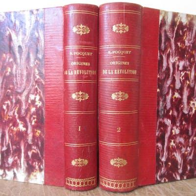 Les Origines de la Révolution en Bretagne [ Complet des 2 volumes ] I