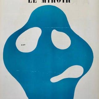 Book DLM 33 Derriere le Miroir 1950, Jean Arp, 3 Lithographs Jean Arp