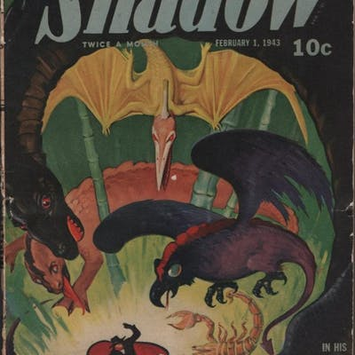 Shadow 1943 February 1.   Pulp