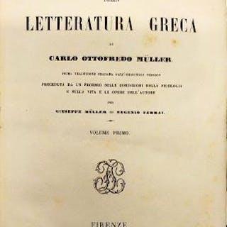 Istoria della letteratura greca