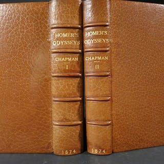 THE ODYSSEYS OF HOMER (George Chapman's translation...
