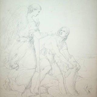 Tobias und der Erzengel Raphael Eduard SCHALLER...