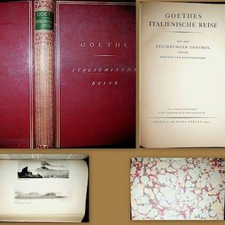 [Italienische Reise] Goethes italienische Reise : mit den Zeichnungen Goethes