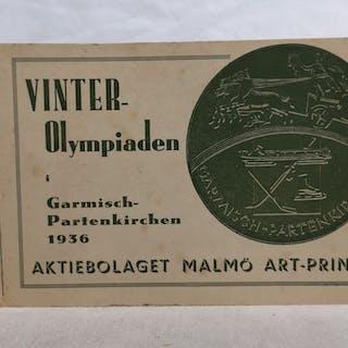 Vinter-Olympiaden i Garmisch-Partenkirchen 1936. o. A.: Sammelalben