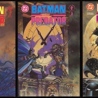 Batman versus Predator Deluxe Trade Paperback TPB SC Full...