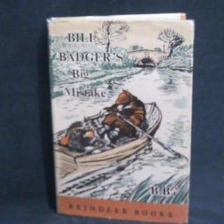 Bill Badger's Big Mistake 'B.B.' Denys Watkins-Pitchford: Children's fiction