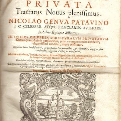 De Scriptura Privata Tractatus Novus plenissimus