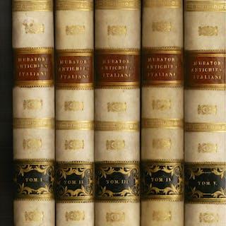 Dissertazioni sopra le antichità italiane. Con note Muratori Ludovico Antonio