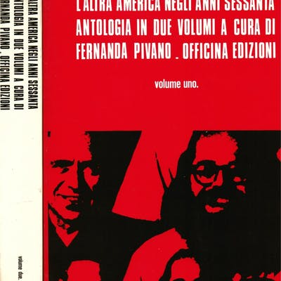 L' altra America negli anni Sessanta. Antologia Pivano Fernanda (a cura)