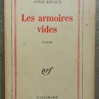 Les armoires vides. Ernaux (Annie) Editions originales,Littérature