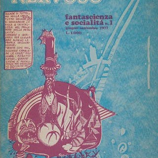 ROBOTA NERVOSO. Fantascienza e socialit?. Numero 1, giugno-settembre 1977 AA.VV.