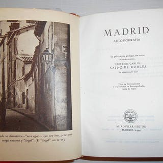 MADRID AUTOBIOGRAFIA SAINZ DE ROBLES, Federico Carlos FRIKIMS-27