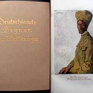 Deutschlands Gegner im Weltkriege   Illustrierte Bücher,Militaria