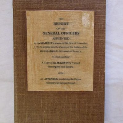 REPORT OF THE GENERAL OFFICERS
