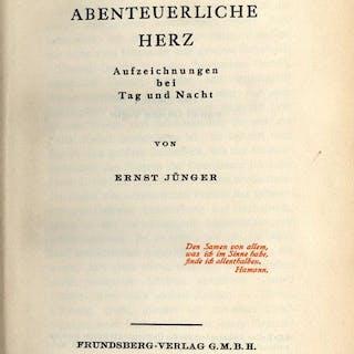 Ernst Jünger. Das abenteuerliche Herz. Ernst Jünger