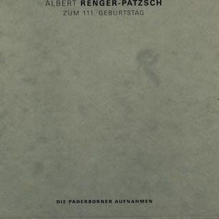 Albert Renger-Patzsch zum 111. Geburtstag. Albert Renger-Patzsch