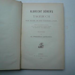Albrecht Dürer's Tagebuch der Reise in die Niederlande