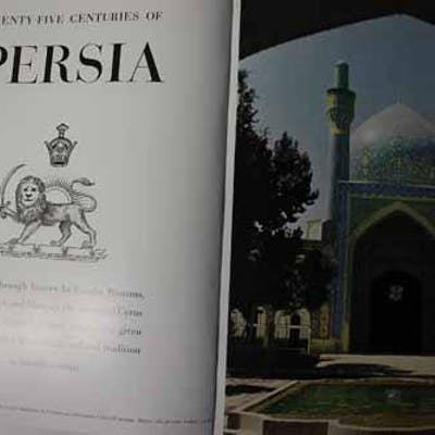 "Article: Twenty-Five Centuries of Persia ""Beseiged through history by Greeks"
