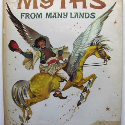 Myths From Many Lands Green, Roger Lancelyn Children's Books & Illustrators