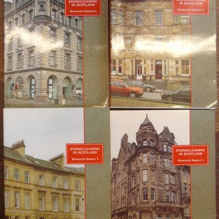Stonecleaning in Scotland Research Reports 1 to 4 Masonry...