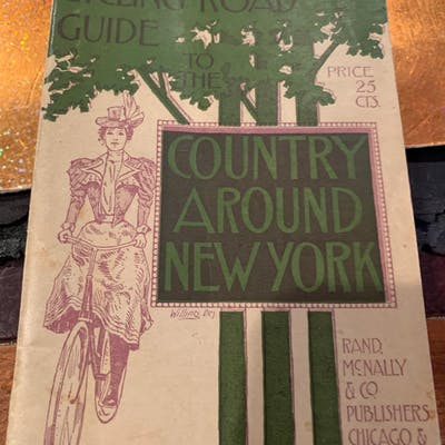 CYCLING ROAD GUISE TO THE COUNTRY AROUND NEW YORK Rand Mcnally