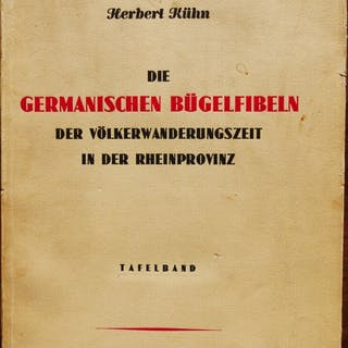 DIE GERMANISCHEN BÜGELFIBELN DER VÖLKERWANDERUNGSZEIT IN DER RHEINPROVINZ