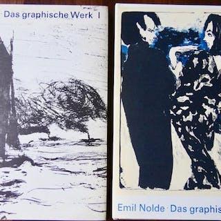 EMIL NOLDE. Das Graphische Werk - Band I. et II. SCHIEFLER (Gustav)